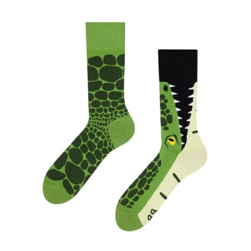 Good Mood | Adult Regular Socks | Crocodile